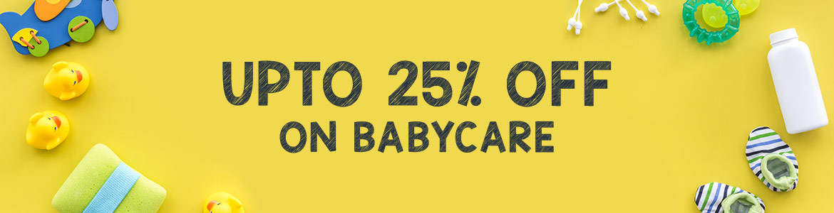 Babycare 25 off Banner