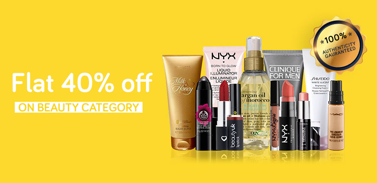 Beauty Flat 40% June