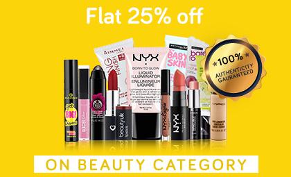 Beauty Flat 25% June