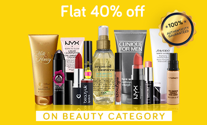 Beauty Flat 40% Off