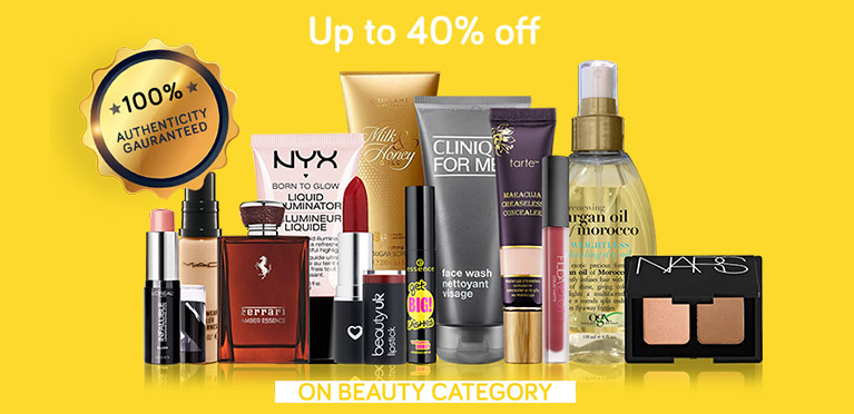 Beauty upto 40% June