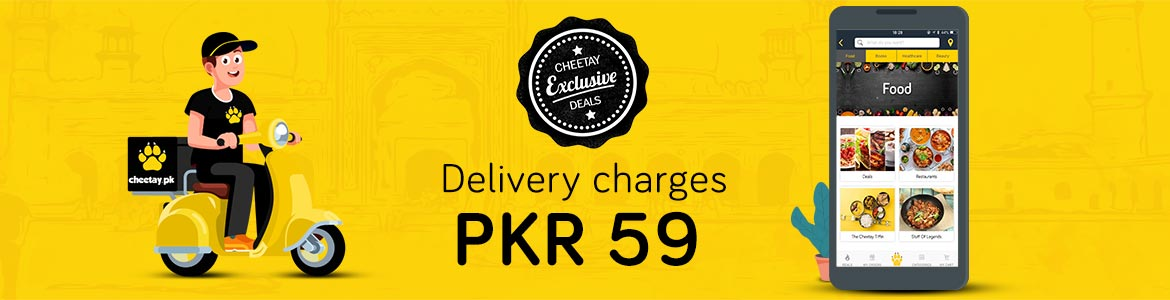 Fix Delivery charge PKR 59