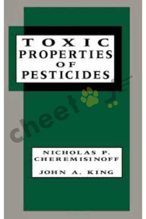 Toxic Properties Of Pesticides (Hb)