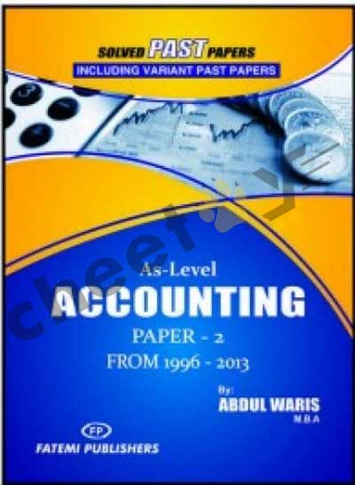 Accounting Paper 2 Solved