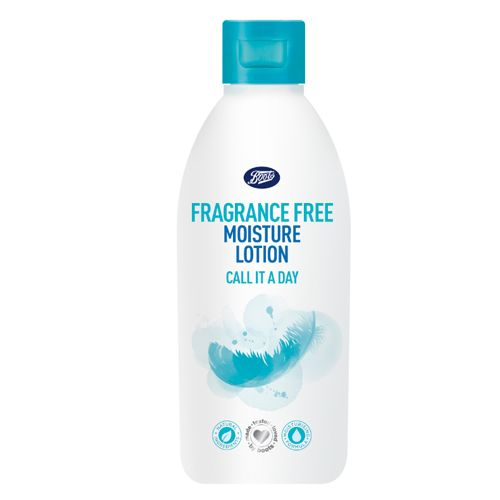 Image result for BOOTS FRAGRANCE FREE MOISTURISING LOTION FOR A SMOOTH DAY 250 ML