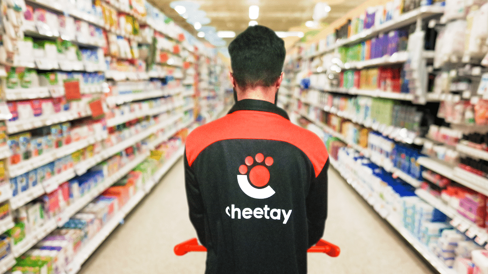 Cheetay Launches a 30 Minute Grocery Delivery Service