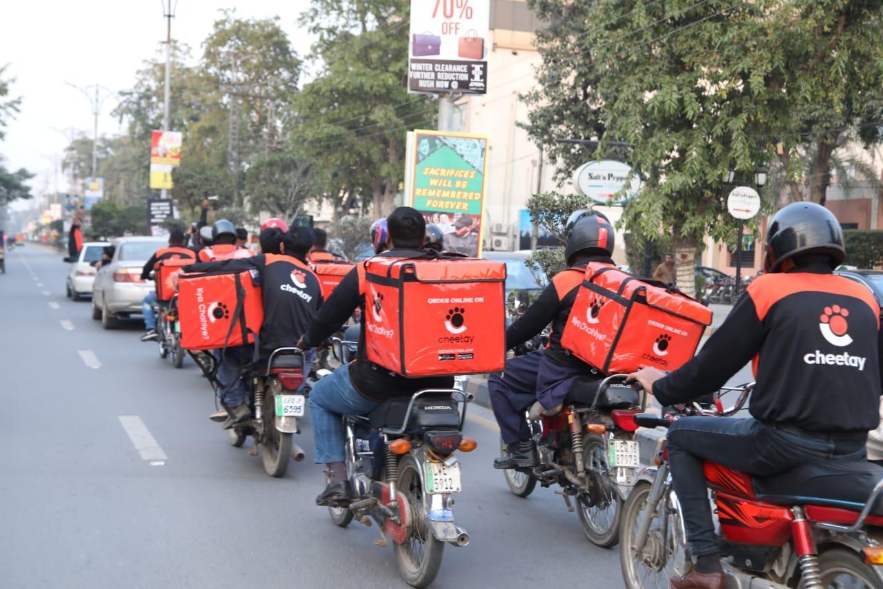 Start-ups battle to lead last-mile delivery market in                                                                                         Pakistan